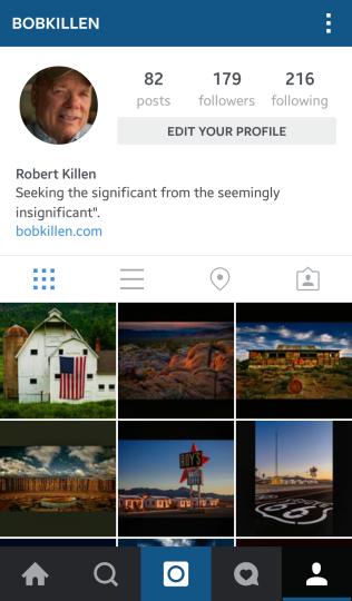 Bob Killen on Instagram
